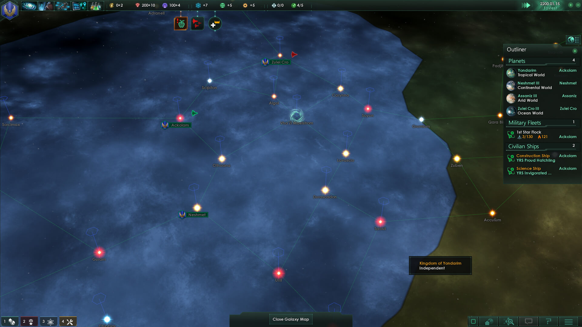 Stellaris Development Diary # 23: Multiplayer Details
