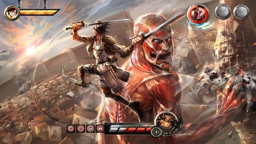 Attack On Titan Mobile Game In The Works