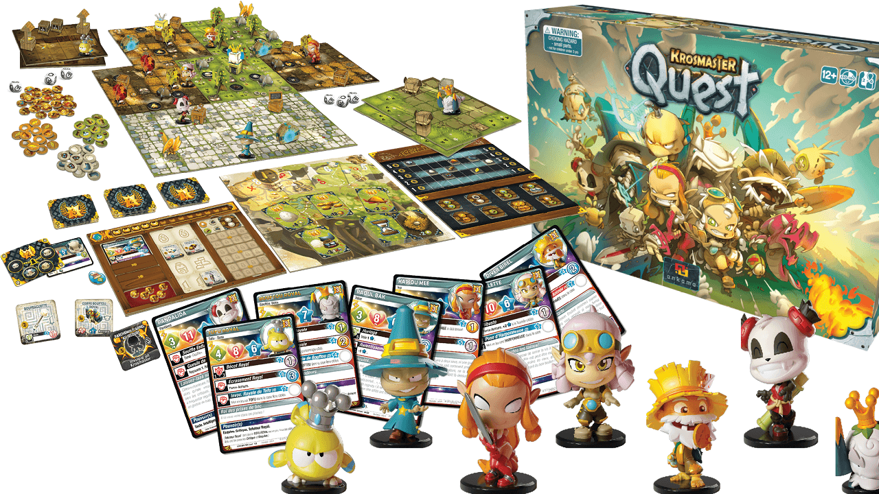 Krosmaster Quest Board Game Available Now