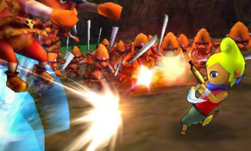 The cast of the Wind Waker sails into Hyrule Warriors Legends.