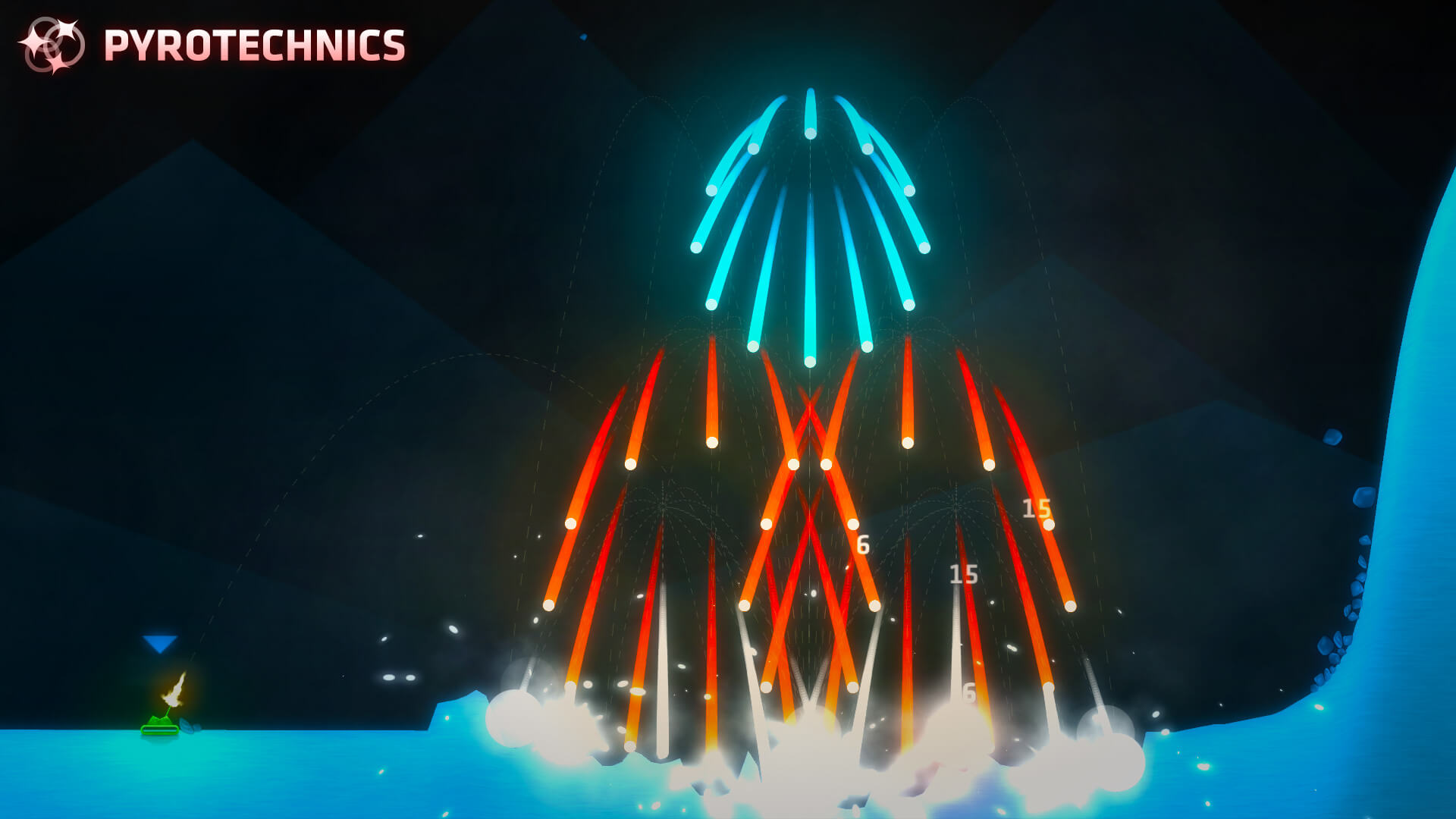 Just some victory fireworks.