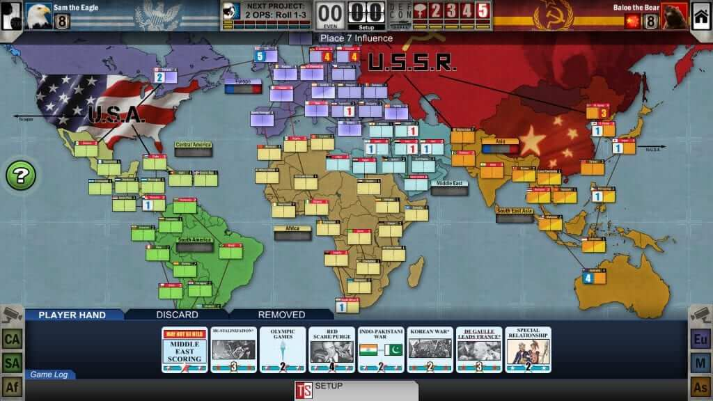 Twilight Struggle: War Hungry on Steam