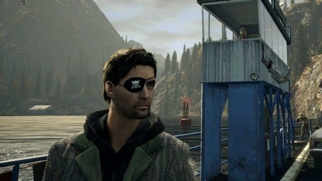 "No fair! His patch is cooler than mine!"" - Alan Wake"