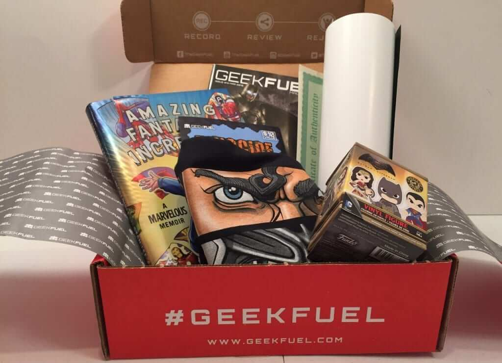 Geek Fuel:  March 2016 Review and Unboxing