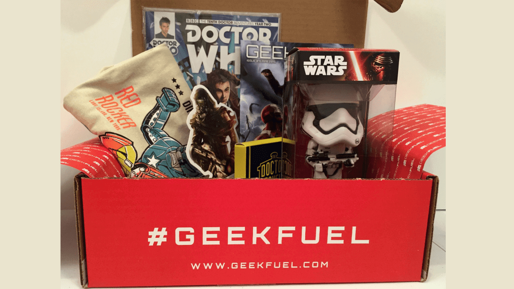 Geek Fuel: April 2016 Review and Unboxing