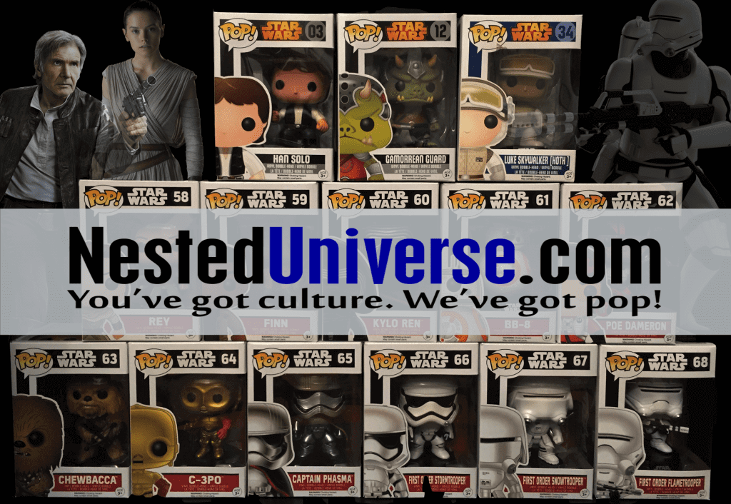 Nested Universe: Star Wars Pop Figure Review