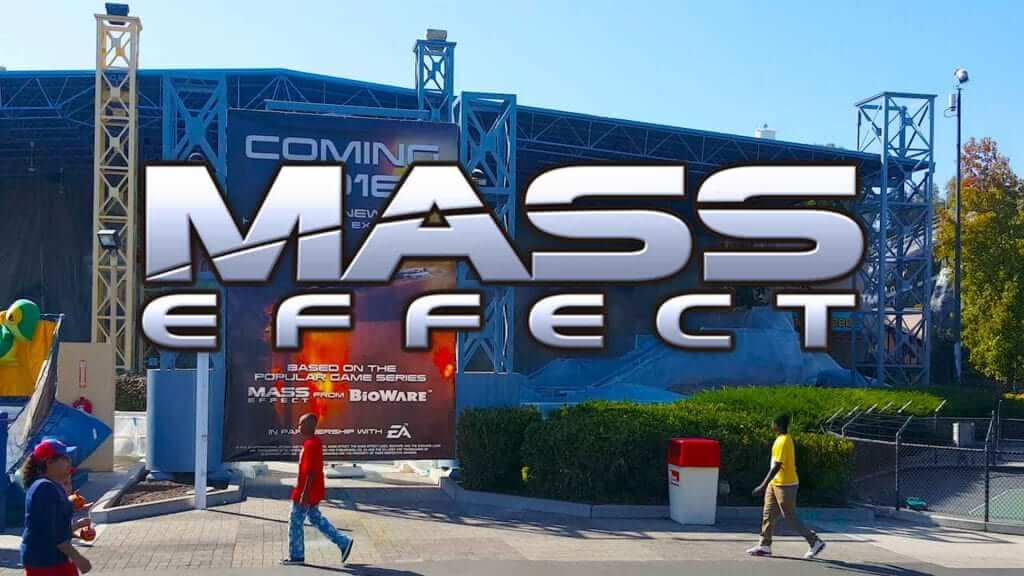 Mass Effect 4D Theme Park Ride Coming Next Month
