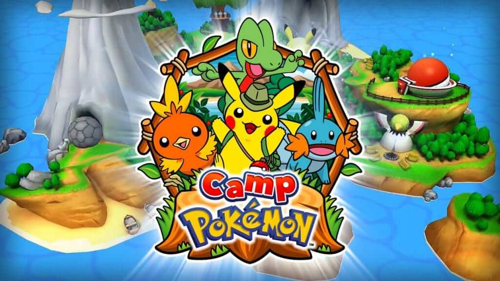 Camp Pokémon Available on Android Worldwide