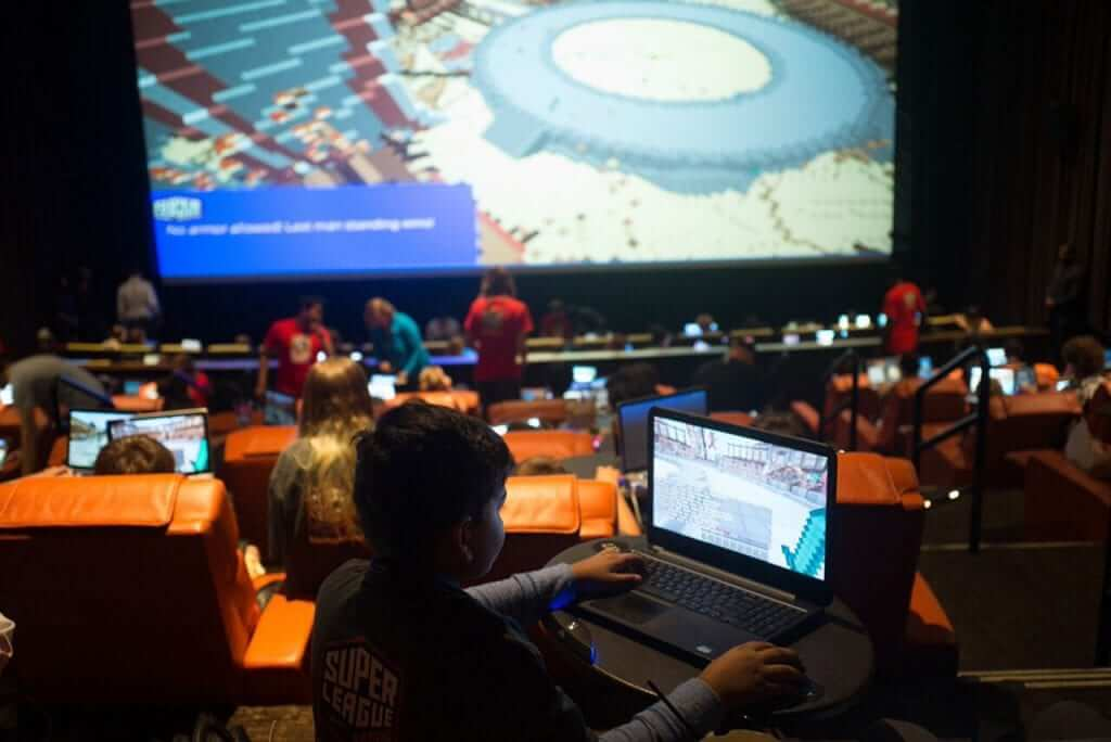 Cinemark Introduces In-Theater Minecraft Gaming Events