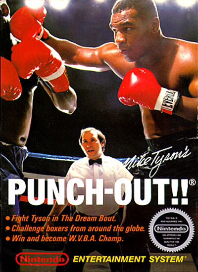 The box for Punch-Out when it released in 1987.