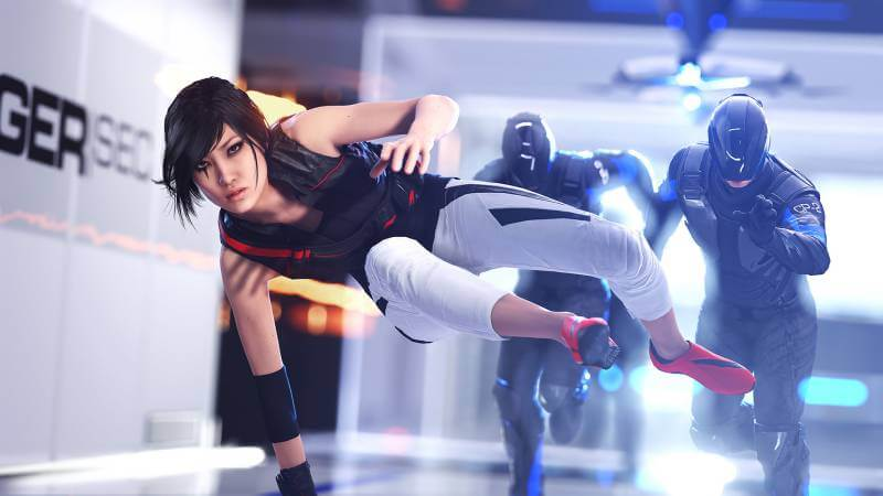 Faith is constantly in danger in Mirror's Edge.