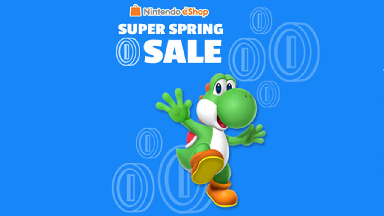 Tons of Discounts on Nintendo Super Spring Sale