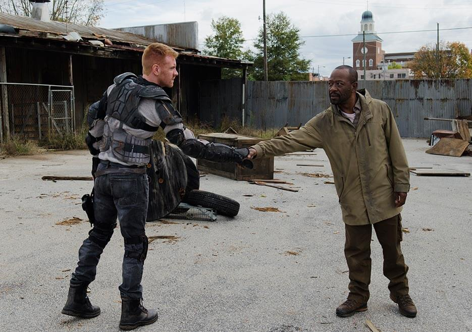 Morgan possibly meets someone from the kingdom
