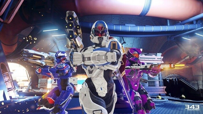 Team up with seven other players to complete different objectives and earn REQ points while doing it.