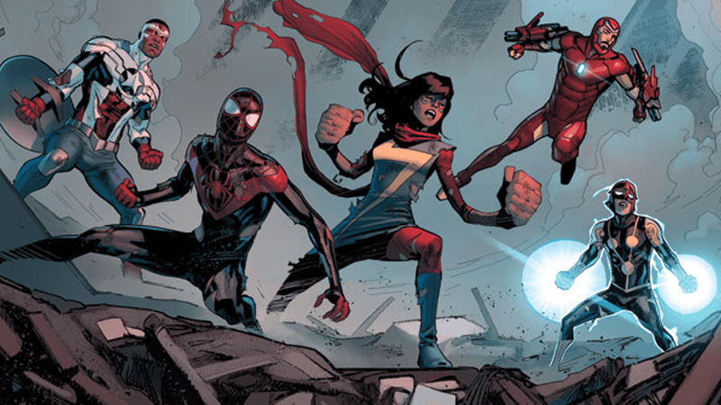 Big things are happening in the Marvel universe.