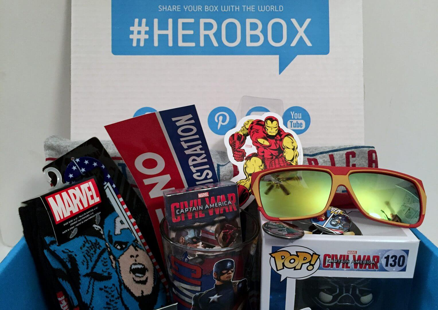 SuperHero Stuff: Captain America: Civil War HeroBox - Review