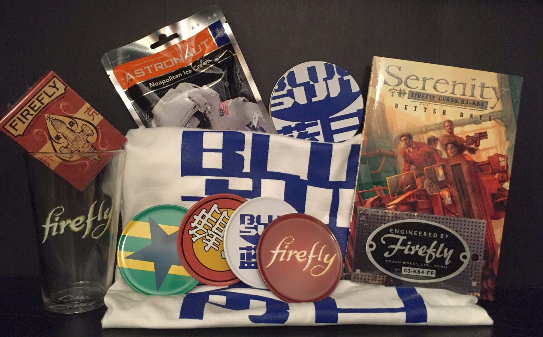 Unlimited Notions: Sci-Fi Addict Box Review - Firefly