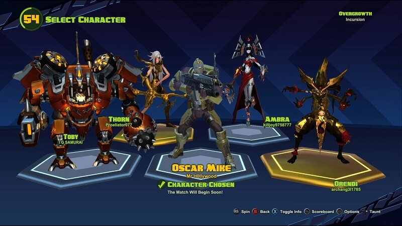 Battleborn Multiplayer