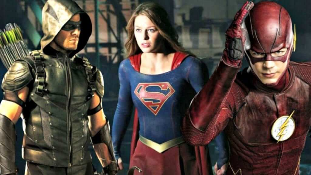The CW Planning the Epic DC Crossover Episode