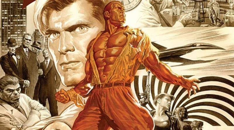 The Rock will fit right into the roll of Doc Savage.