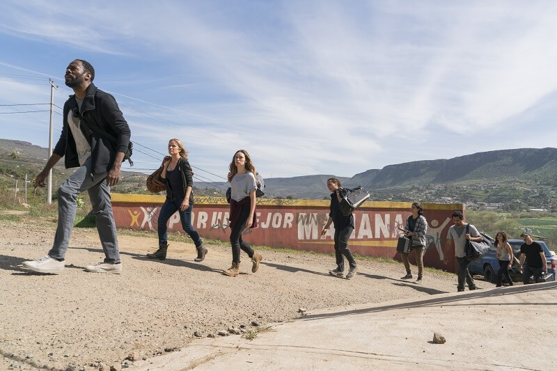 Fear the Walking Dead Group heading to Abigail compound