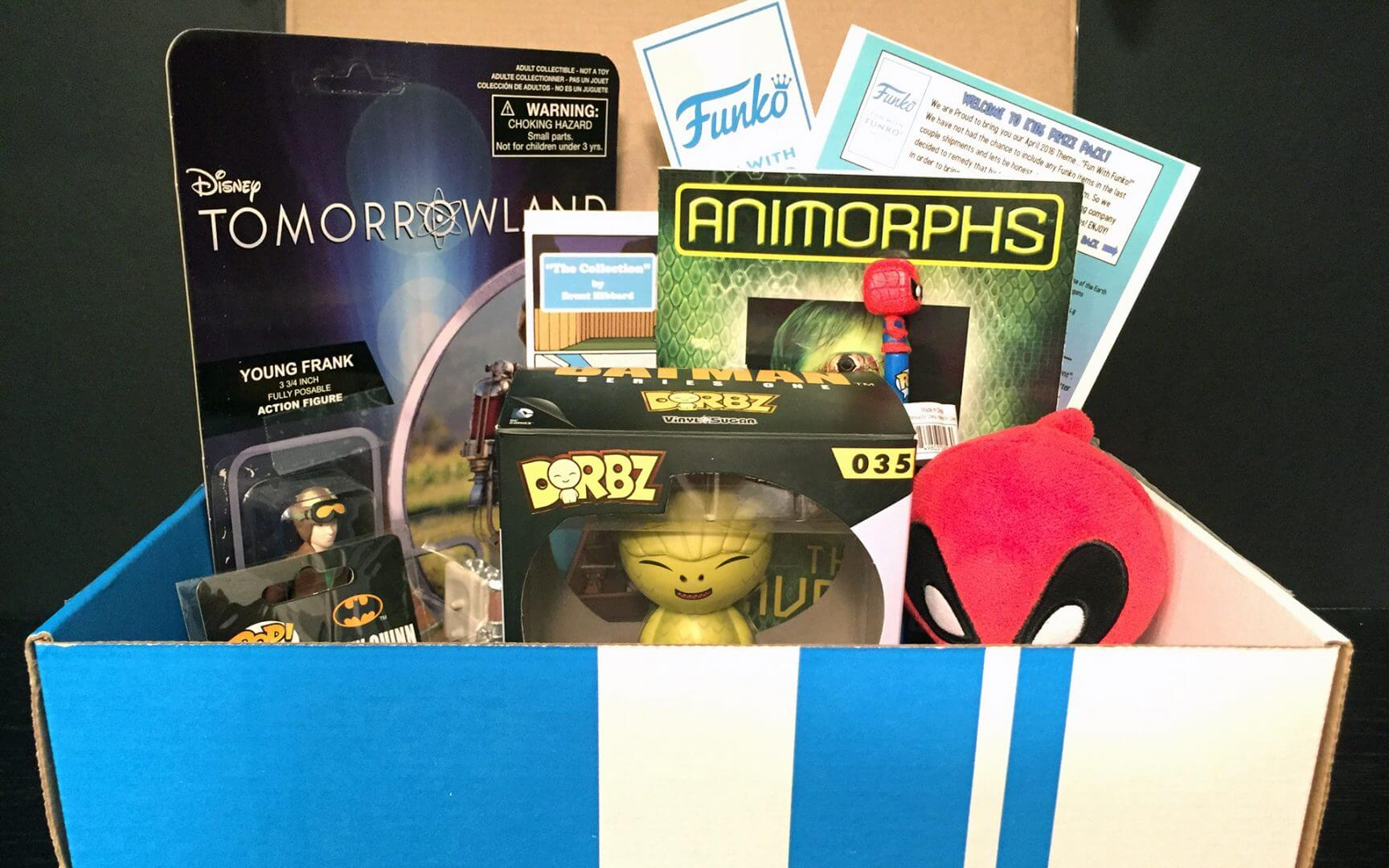 Kid's Prize Pack: April 2016 Unboxing Review