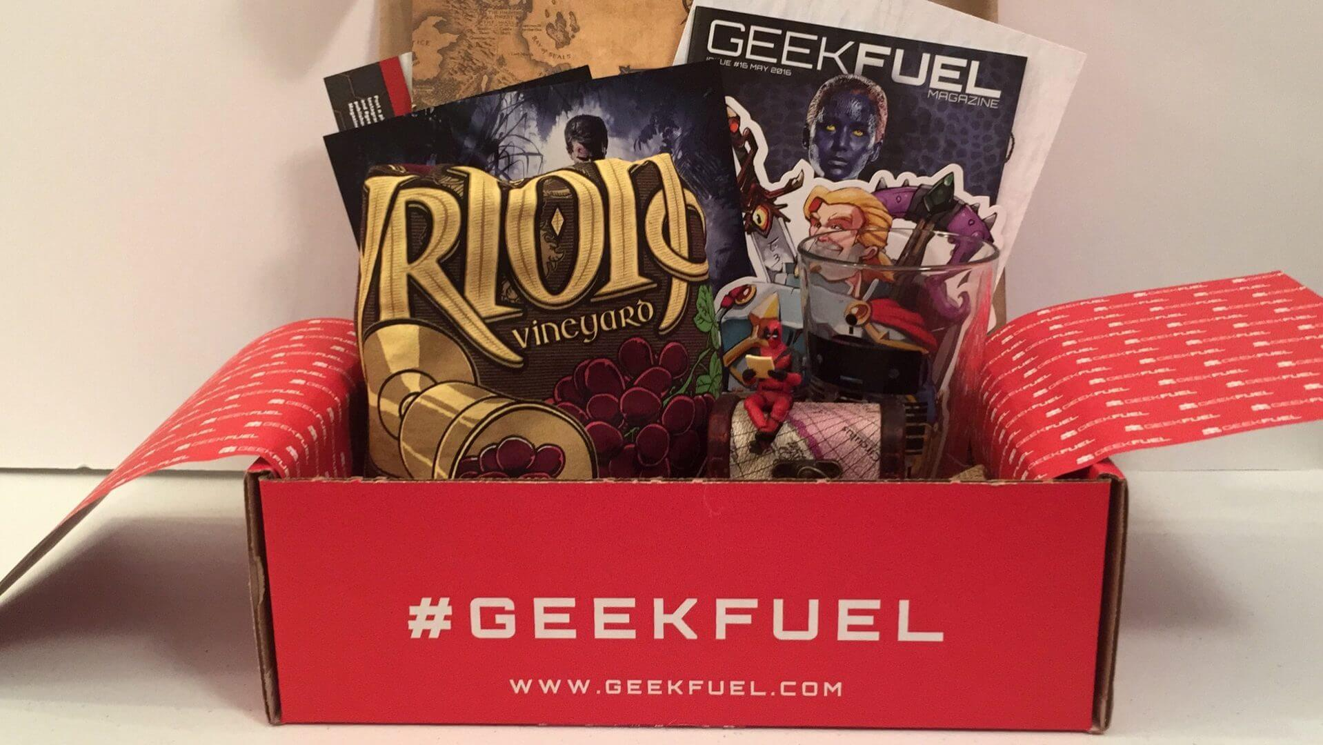 Geek Fuel: May 2016 Review and Unboxing