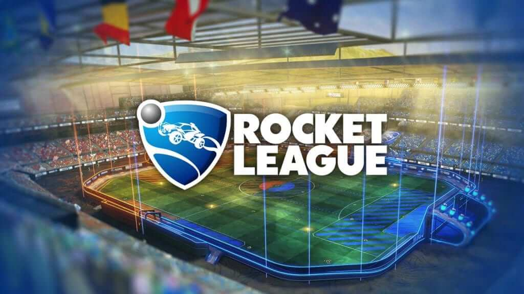 Rocket league title screen