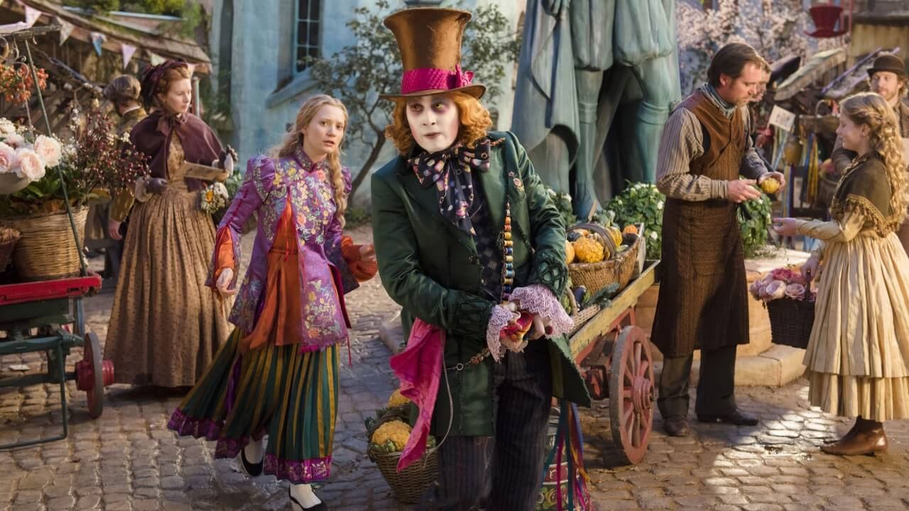 The Hatter and Alice have such an endearing friendship, one that almost overshadows the messiness of this story.