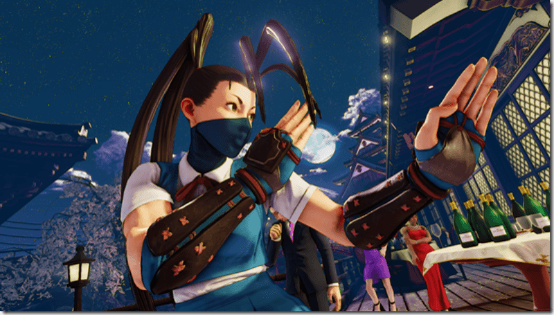 Ibuki officially joins Street Fighter V