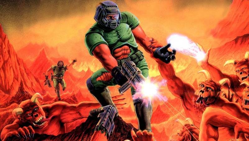 Doom has come a long way.