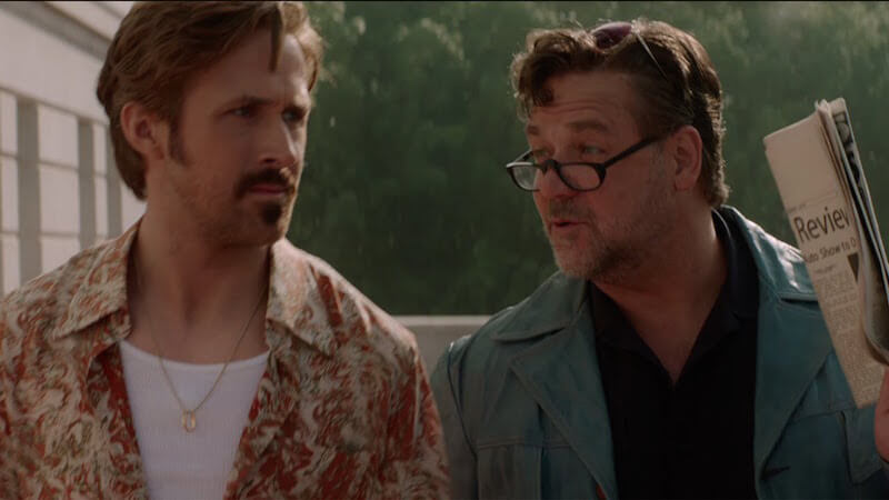 Crowe and Gosling's chemistry is one of the highlights of The Nice Guys