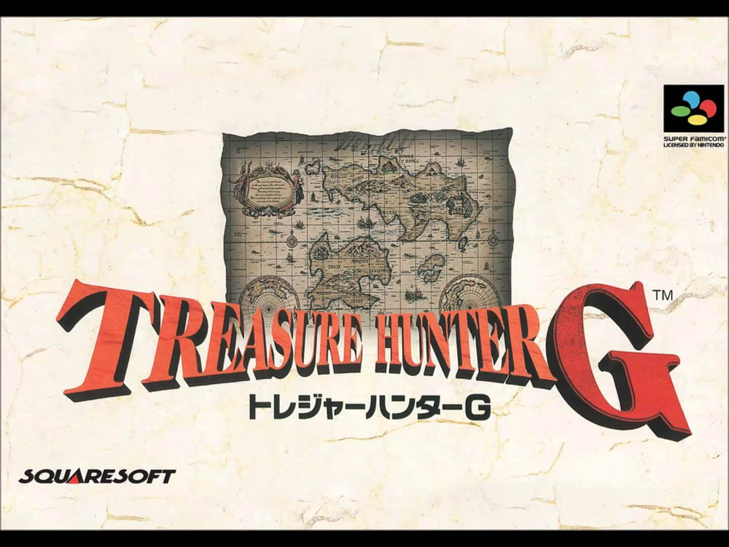 Treasure Hunter G Japan Only Video Games