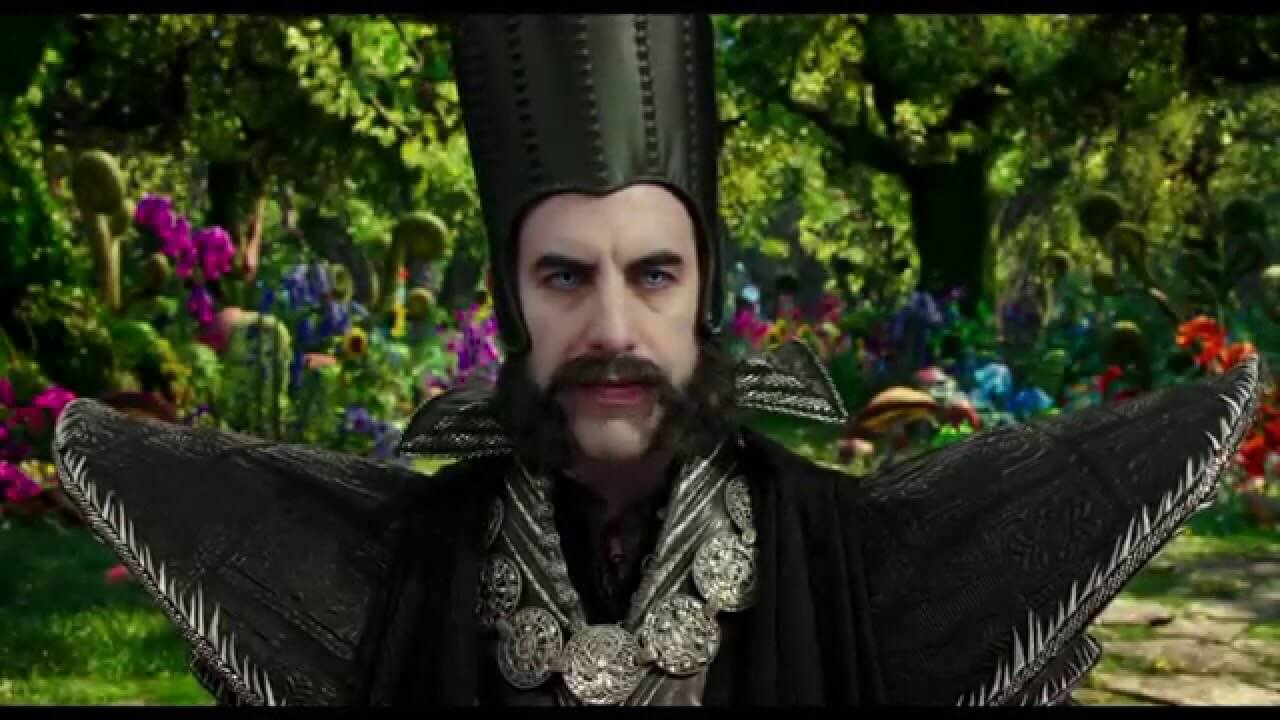 Sacha Baron Cohen is great as Time, a really compelling new villain.