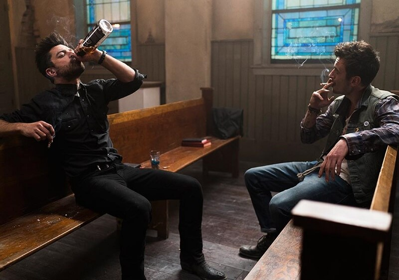 Cassidy and Jesse in Preacher