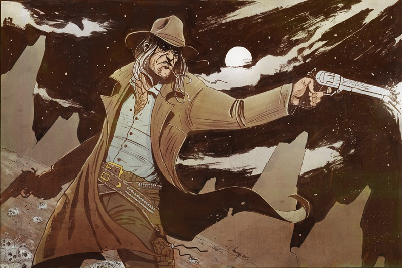 Saint of Killers from Preacher Comic