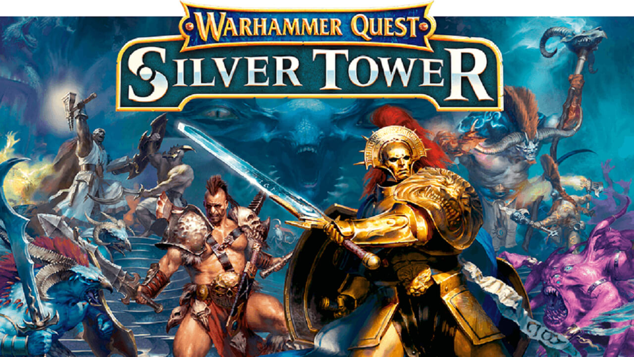 Warhammer Quest: Silver Tower Announced