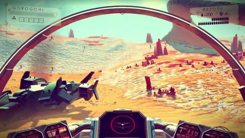 We might have to wait a bit longer to explore the majestic worlds of No Man's Sky.
