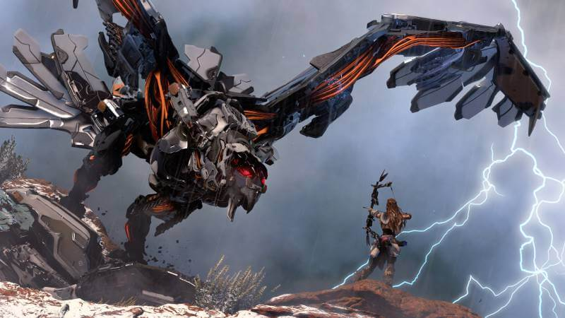 There will be plenty of beasts to fight in Horizon Zero Dawn.