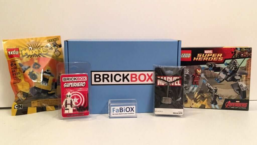 BRICKBOX:  March 2016 Review - SuperHero