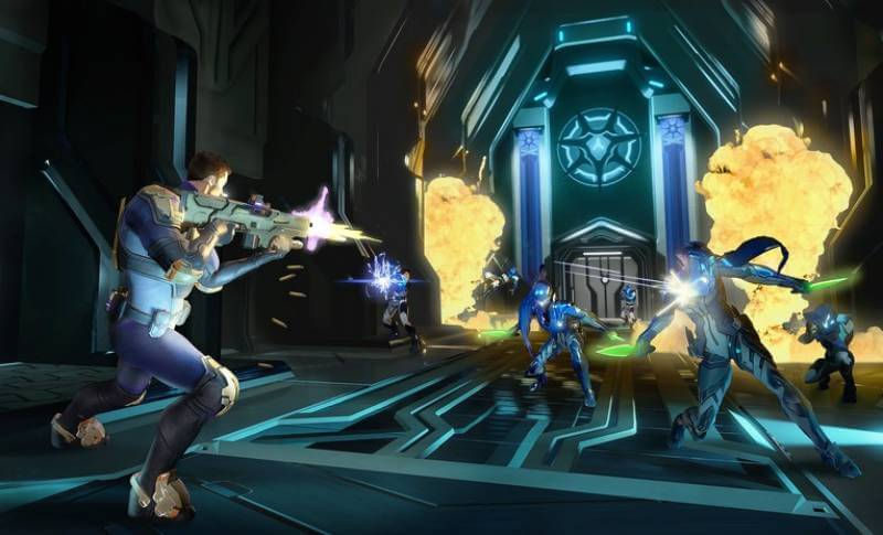 A quick look at gameplay in Agents of Mayhem.