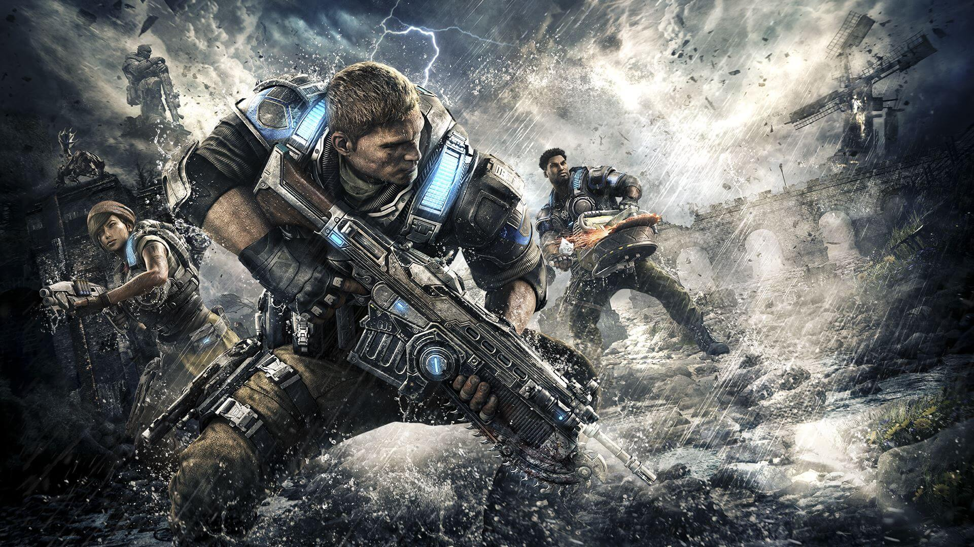 E3 2016: Gears of War 4 Demonstrates PC/Xbox One Crossplay