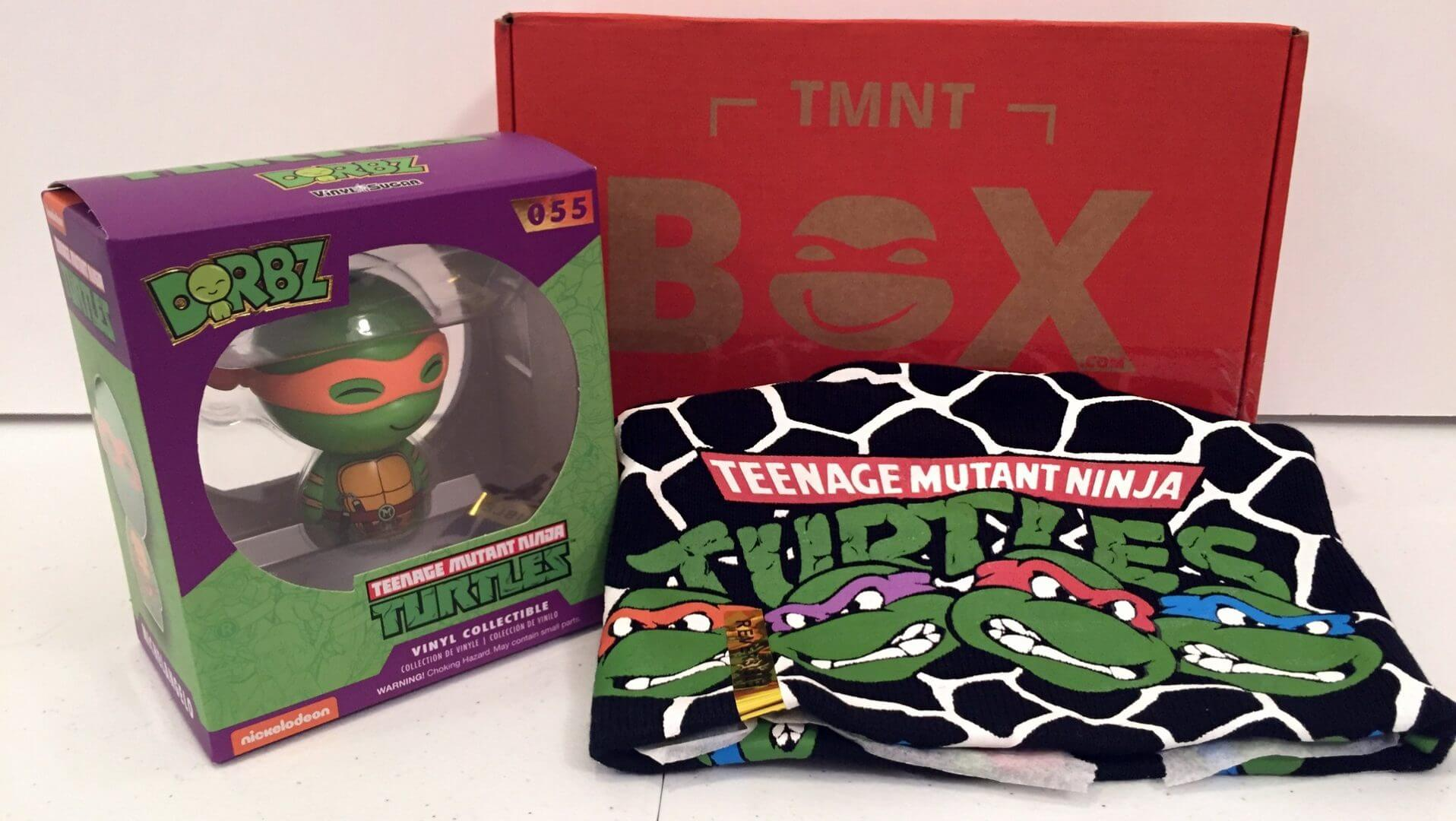 TMNT Box:  A Subscription Box for TMNT Fans - Review