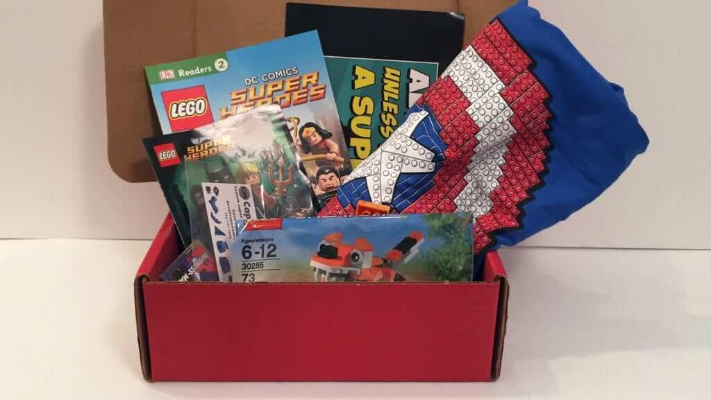Brick Builders Club:  May 2016 Review - SuperHeroes
