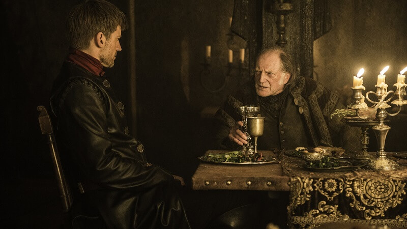 Heard the one about the Lannister and the Wildling? No? Maybe later...