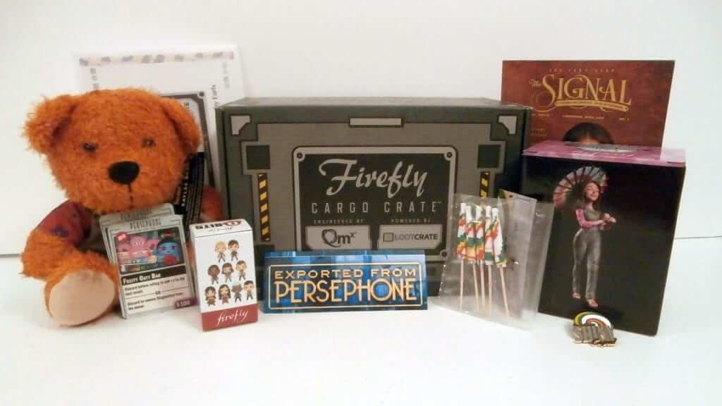 Firefly Cargo Crate by Loot Crate: March 2016 Review
