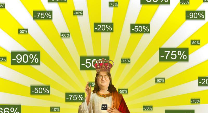 Lord Gabe will bless us with the Steam Summer Sale.