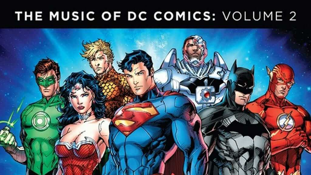 DC Comics Announces New Soundtrack