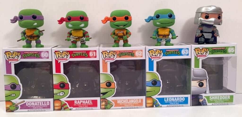 Teenage Mutant Ninja Turtles Pop! Figures - Review