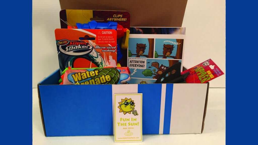Kid's Prize Pack: May 2016 Review - Fun in the Sun